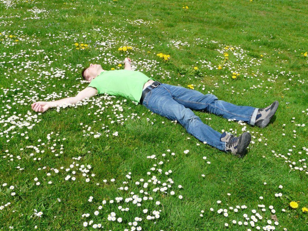 homme-qui-dort-dans-l-herbe